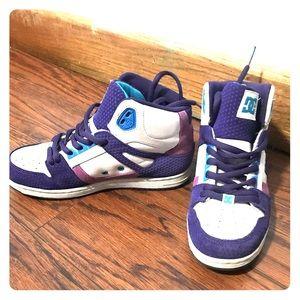 DC brand shoes - purple - Women's